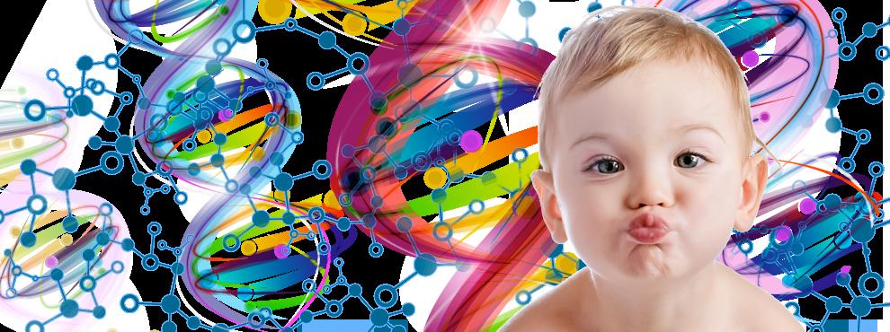 bambino-dna-genetica